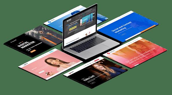criar website marketing digital